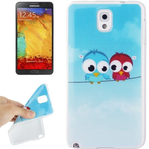 case - TPU - love birds