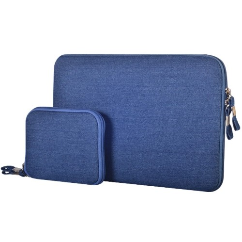 Sleeve - voor laptop en tablet tot max. formaat van 13.3 inch -blauw