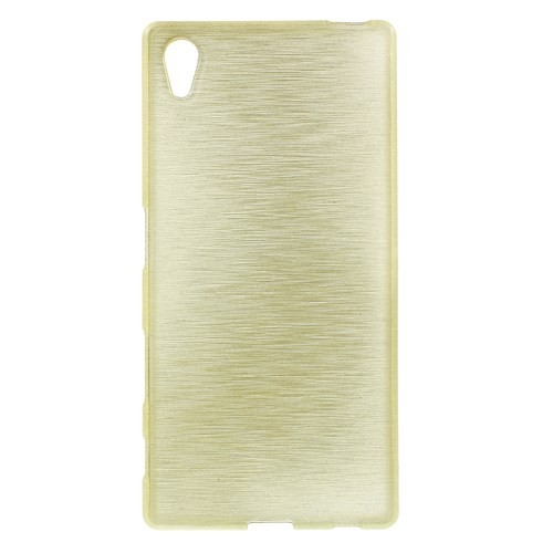 sony-xperia-z5-hoes-cover-case-tpu-brushed-champagne