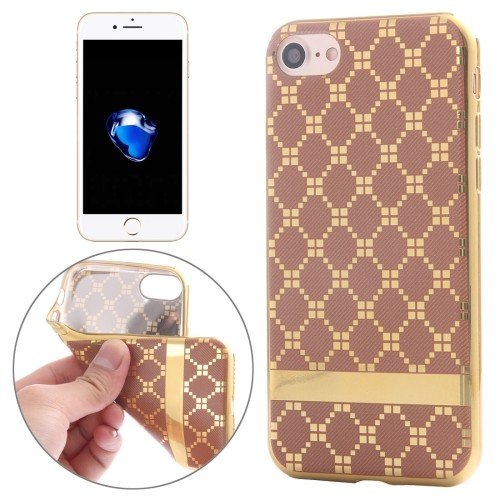 iphone-7-47-inch-hoes-cover-case-tpu-geruit-goud-bruin