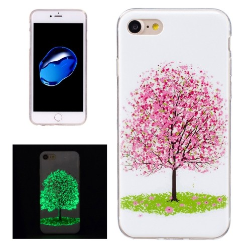 case - TPU - Transparant - Cherry blossom Tree