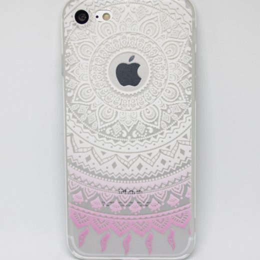 iPhone 7 (4.7 Inch) hoes, cover, case TPU Mandala - nophone