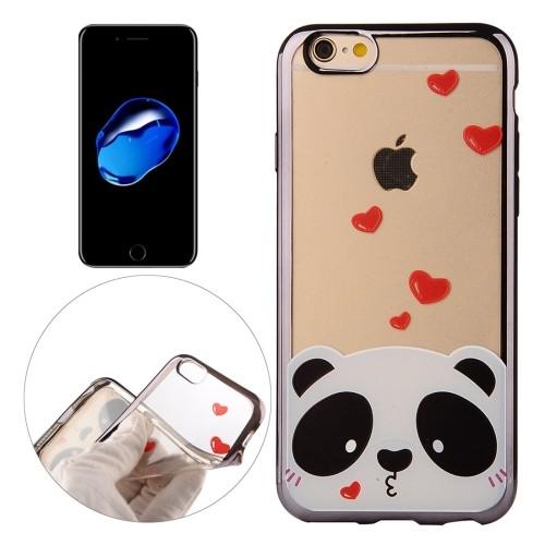case - TPU - Love Panda
